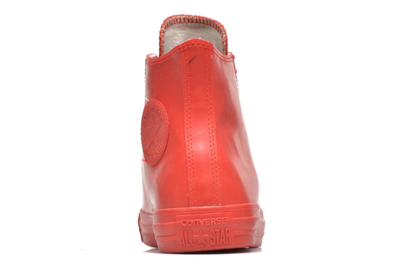 Sneakers Converse Chuck Taylor All Star Rubber Hi W Rød Se fra højre