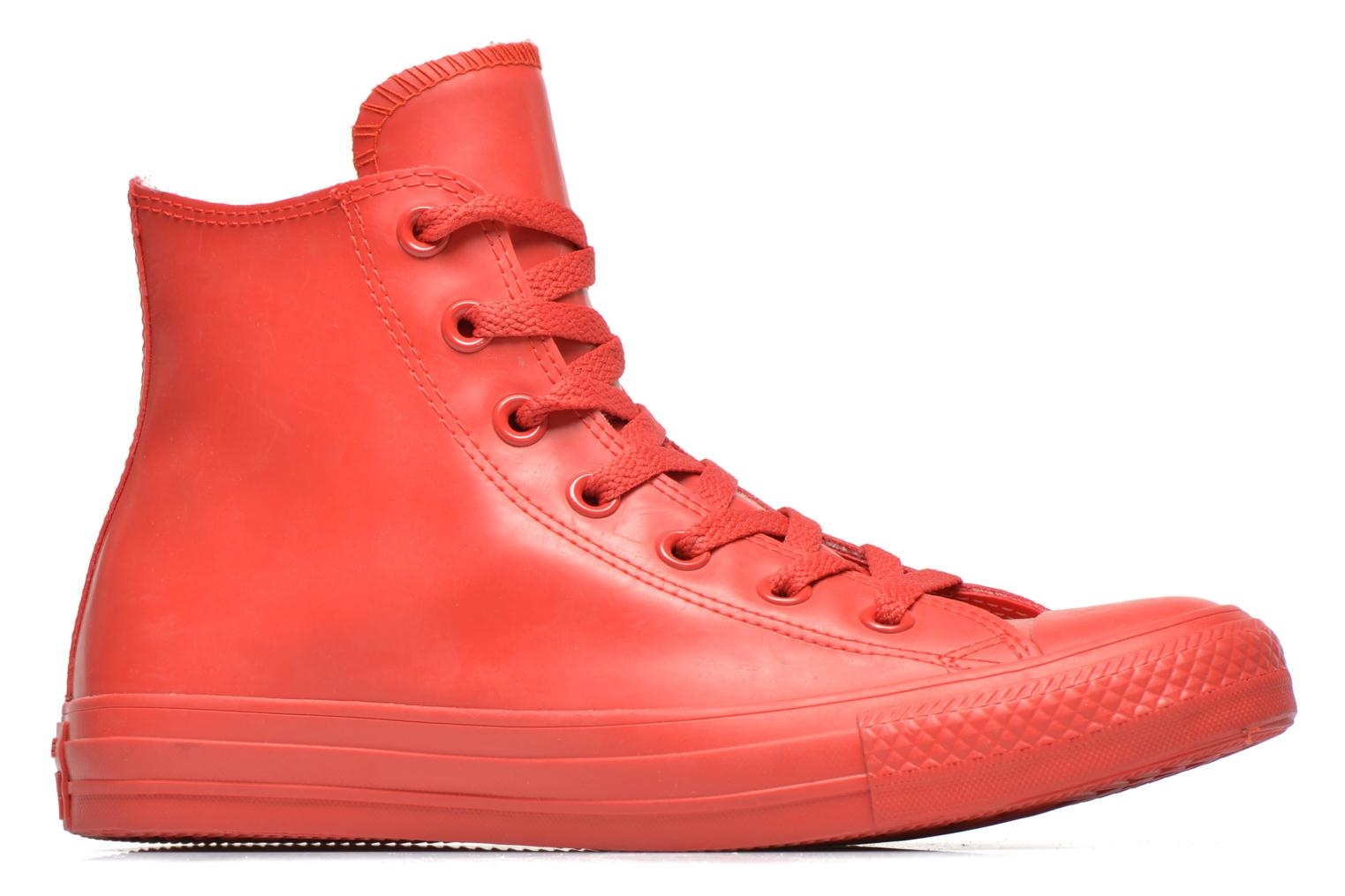 Trainers Converse Chuck Taylor All Star Rubber Hi W Red back view