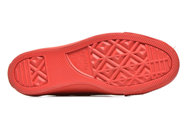 Sneakers Converse Chuck Taylor All Star Rubber Hi W Rosso immagine dall'alto