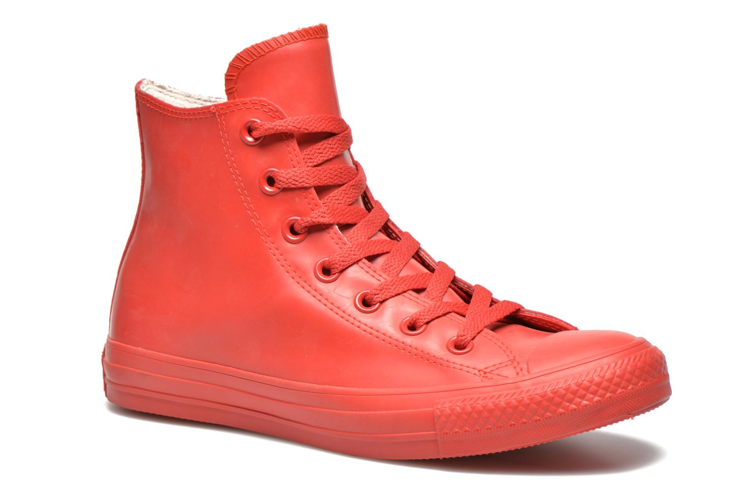 Baskets Converse Chuck Taylor All Star Rubber Hi W Rouge vue détail/paire