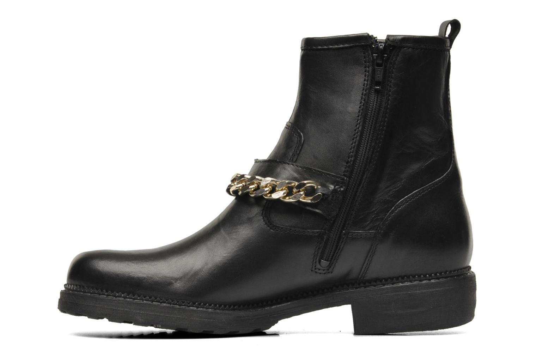 Bottines et boots Eden AVRIL Noir vue face