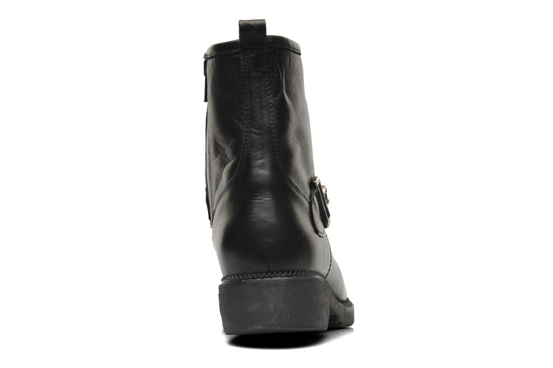Bottines et boots Eden AVRIL Noir vue droite