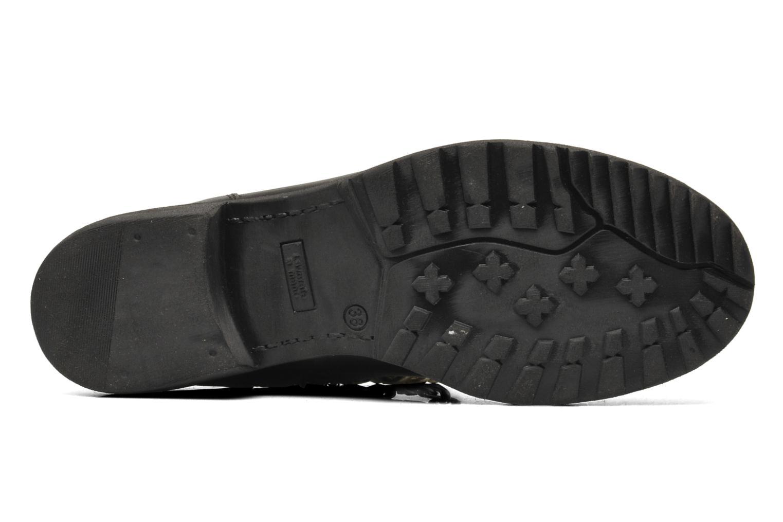 Bottines et boots Eden AVRIL Noir vue haut