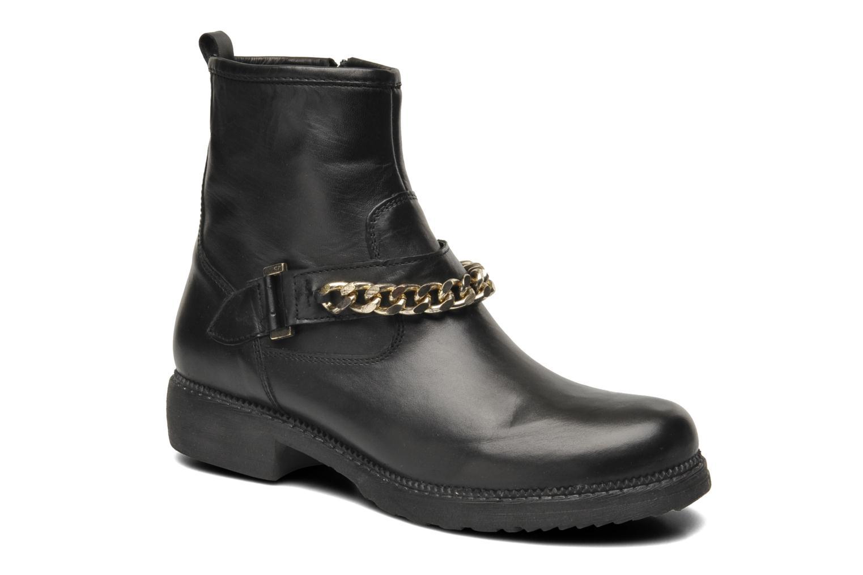 Bottines et boots Eden AVRIL Noir vue détail/paire