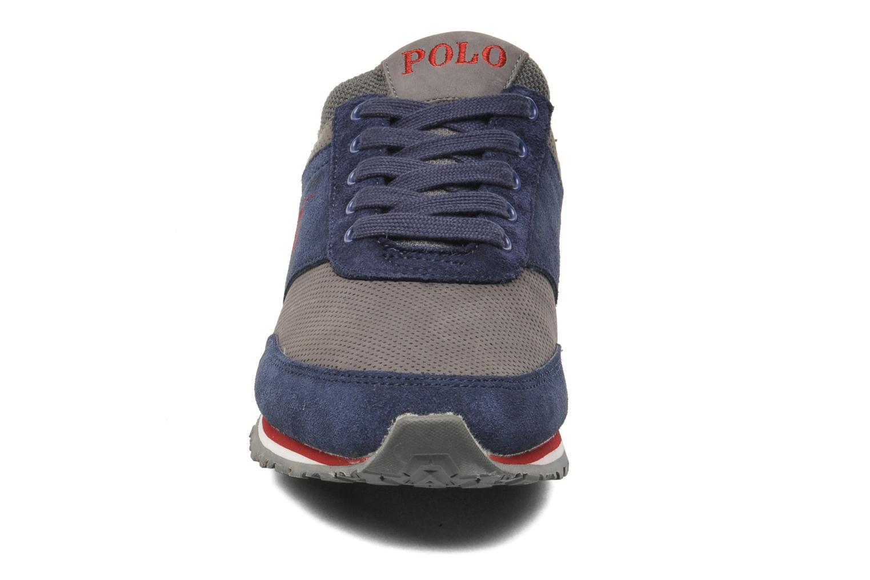 Baskets Polo Ralph Lauren Ponteland Bleu vue portées chaussures