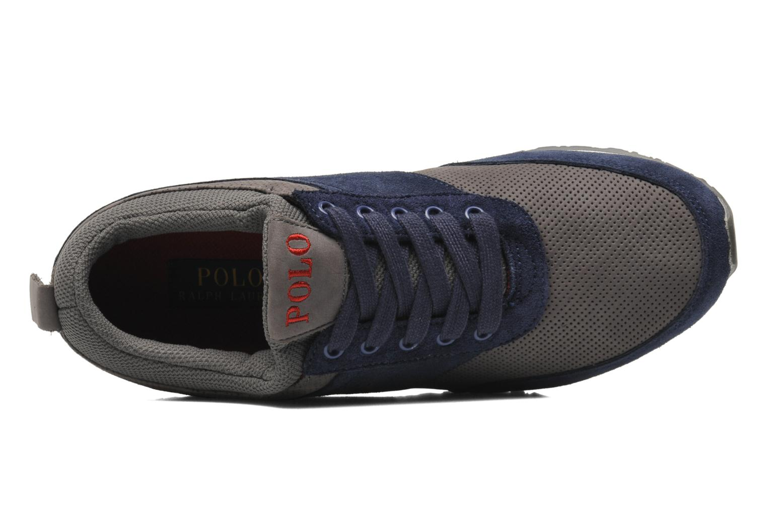 Trainers Polo Ralph Lauren Ponteland Blue view from the left