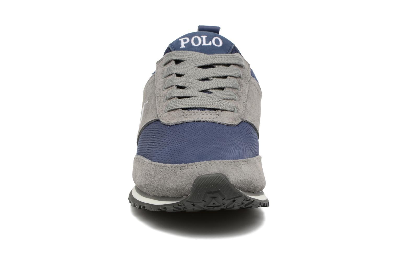 Baskets Polo Ralph Lauren Ponteland Gris vue portées chaussures