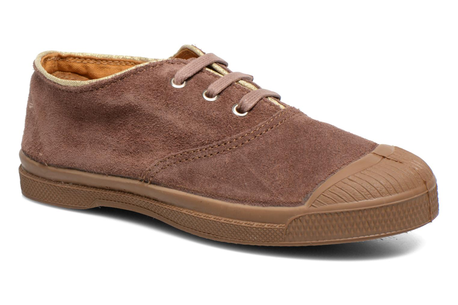 Trainers Bensimon Tennis Suedpiping E Brown detailed view/ Pair view