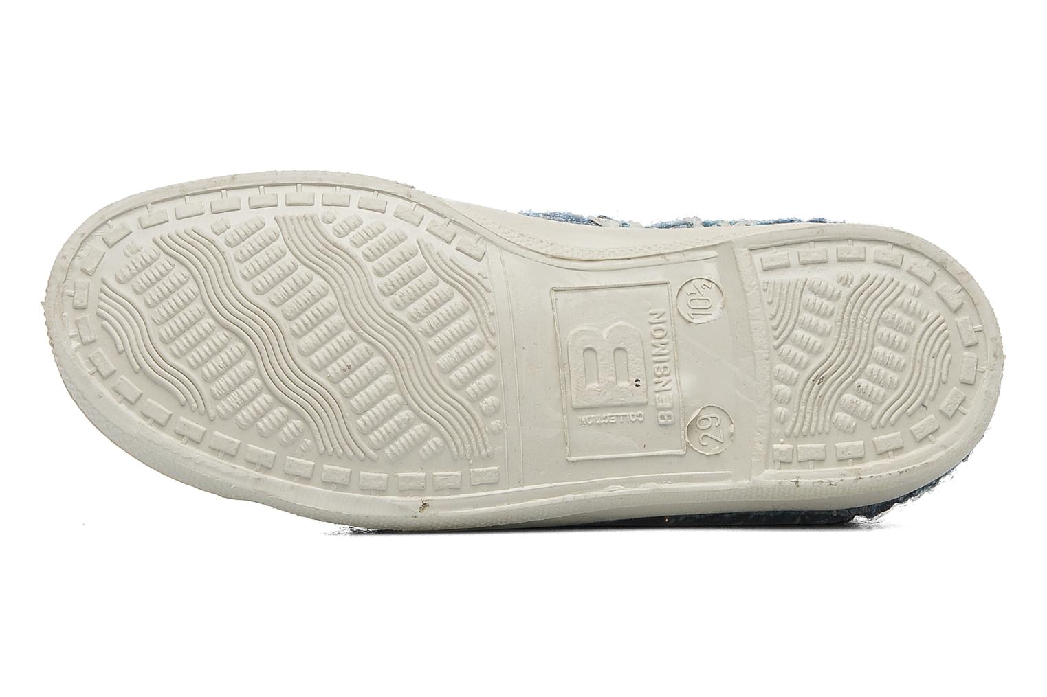 Trainers Bensimon Tennis Tweedy E Blue view from above