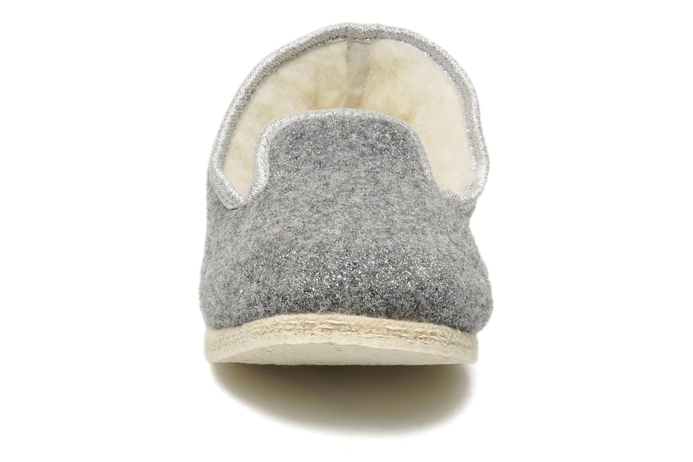 Chaussons Rondinaud Muizon-P Gris vue portées chaussures