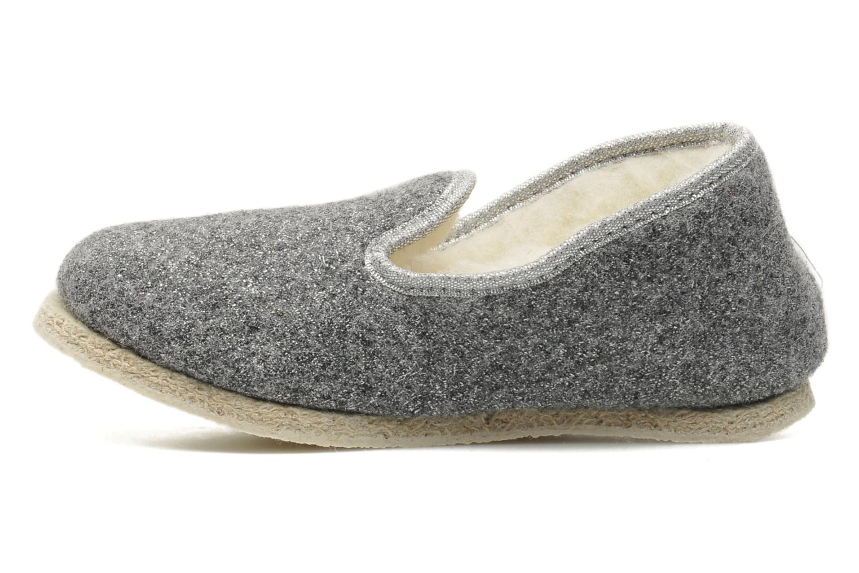 Slippers Rondinaud Muizon-P Grey front view