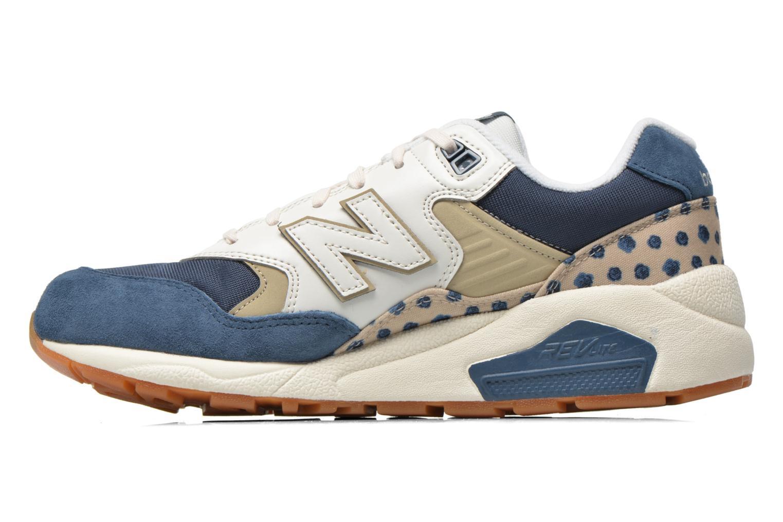Sneaker New Balance WRT580 blau ansicht von vorne