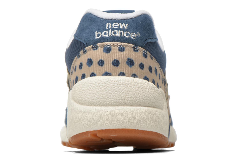 Sneaker New Balance WRT580 blau ansicht von rechts