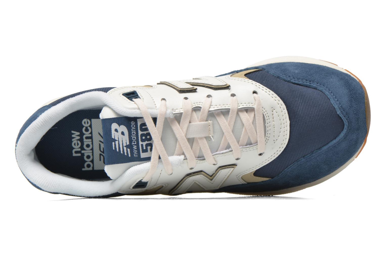 Sneaker New Balance WRT580 blau ansicht von links