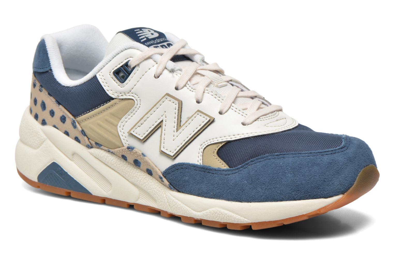 Sneakers New Balance WRT580 Blå detaljerad bild på paret