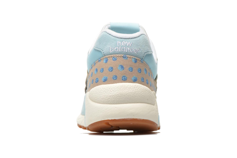 Baskets New Balance WRT580 Bleu vue droite