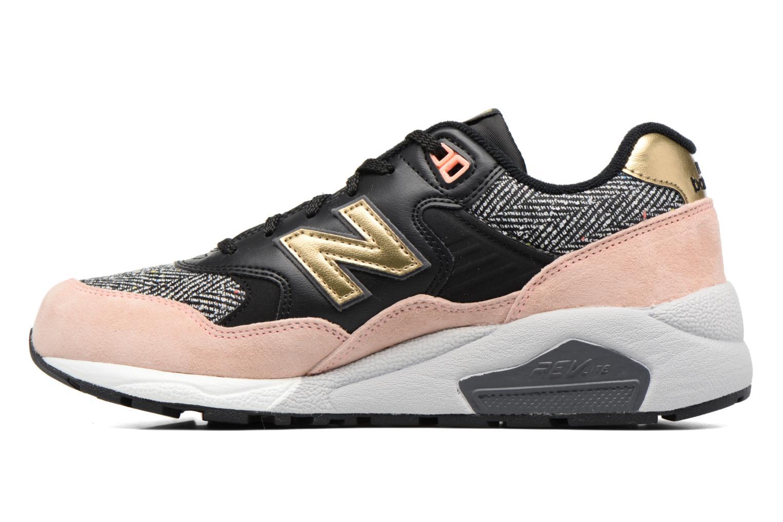 Sneaker New Balance WRT580 rosa ansicht von vorne