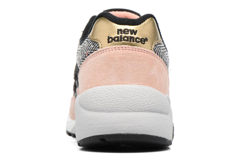 Sneaker New Balance WRT580 rosa ansicht von rechts