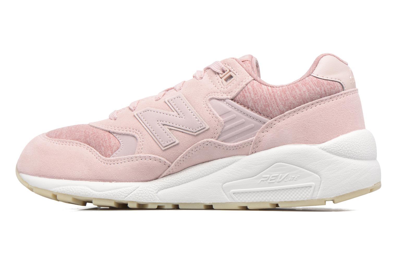 Sneakers New Balance WRT580 Roze voorkant