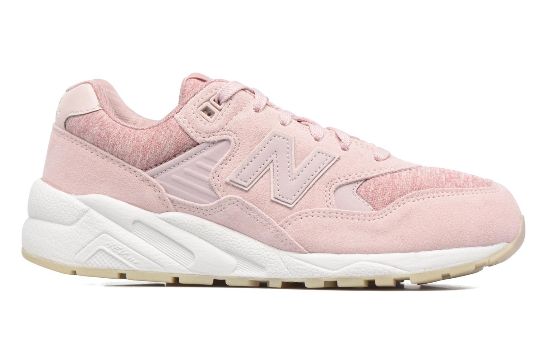 Sneaker New Balance WRT580 rosa ansicht von hinten