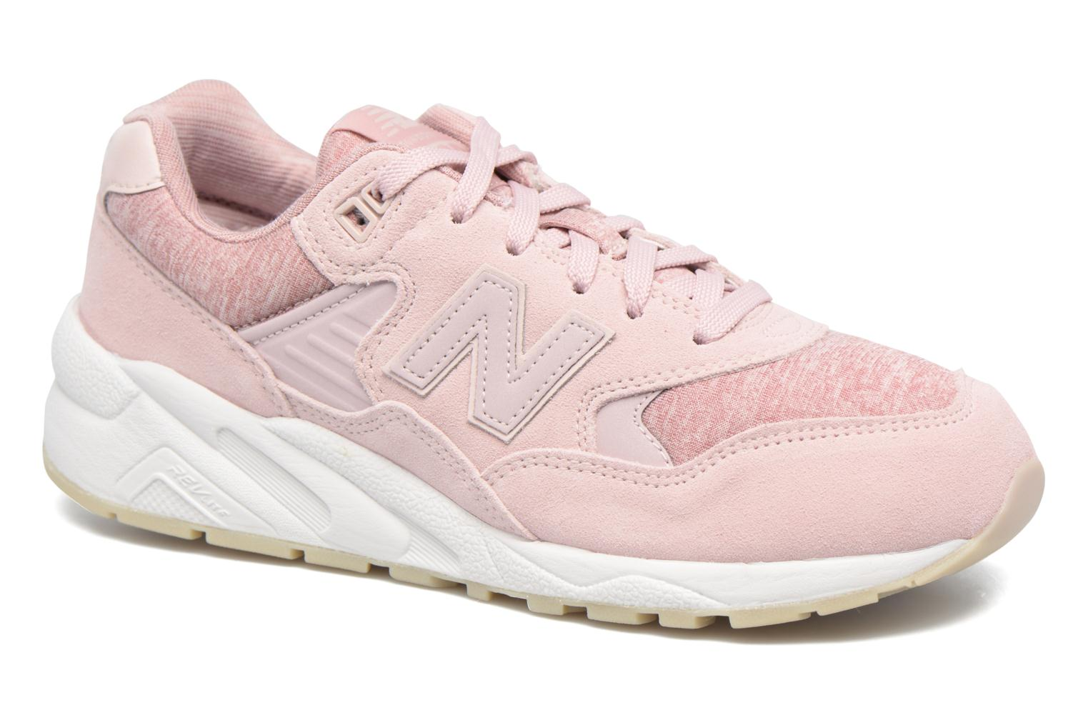 Baskets New Balance WRT580 Rose vue détail/paire