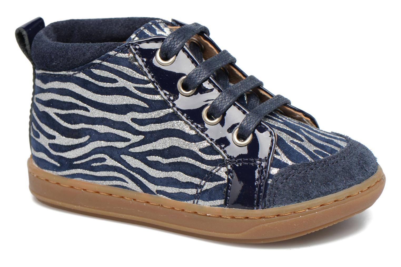 Ankelstøvler Shoo Pom Bouba Bump Blå detaljeret billede af skoene