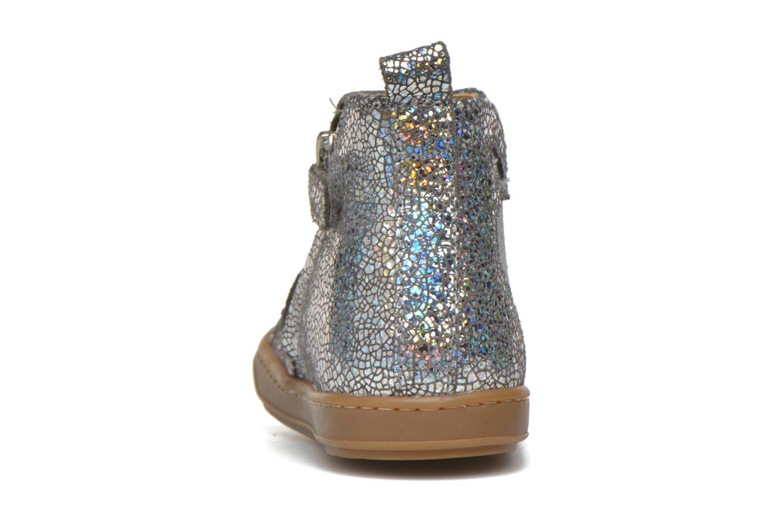 Bottines et boots Shoo Pom Bouba Apple Argent vue droite