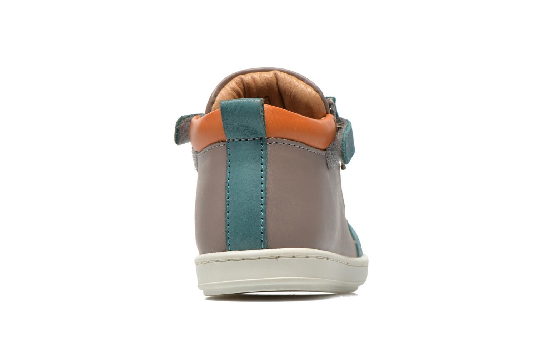 Bottines et boots Shoo Pom Bouba Bi Zip Gris vue droite