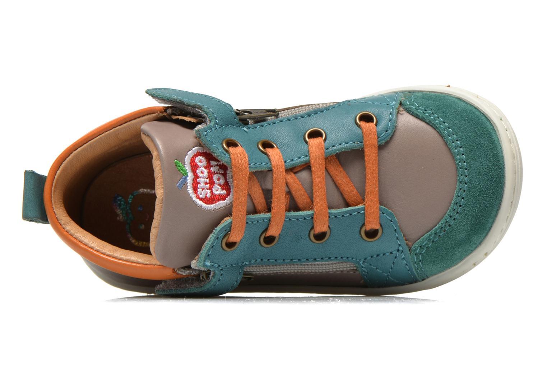Bottines et boots Shoo Pom Bouba Bi Zip Gris vue gauche