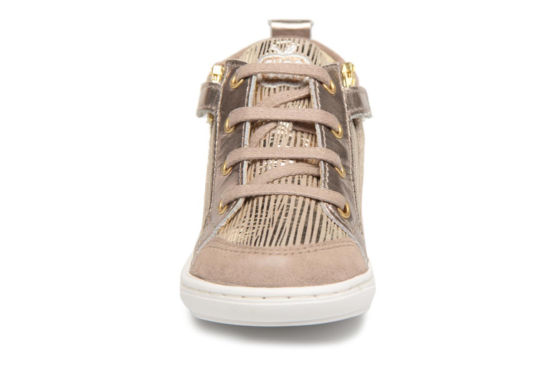 Bottines et boots Shoo Pom Bouba Bi Zip Beige vue portées chaussures