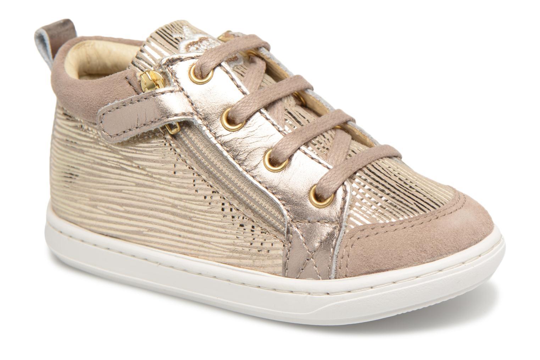 Ankle boots Shoo Pom Bouba Bi Zip Beige detailed view/ Pair view
