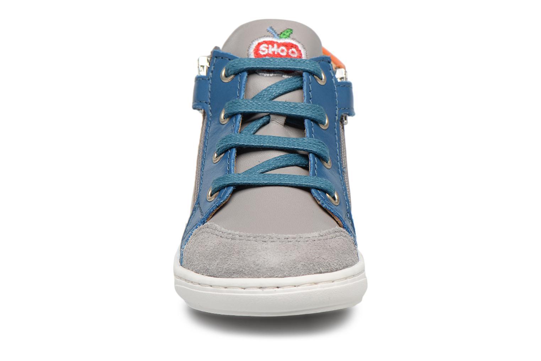 Ankle boots Shoo Pom Bouba Bi Zip Grey model view