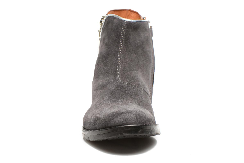 Stiefeletten & Boots Shwik TIJUANA BIDING grau schuhe getragen