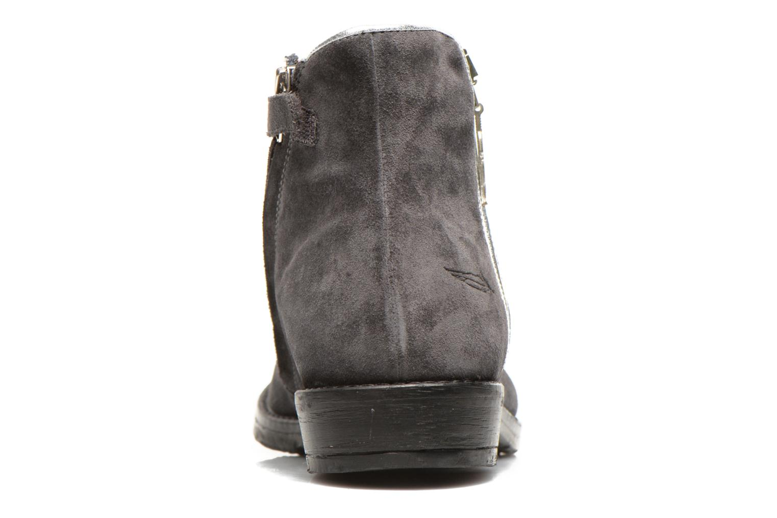 Ankle boots Shwik TIJUANA BIDING Grey view from the right