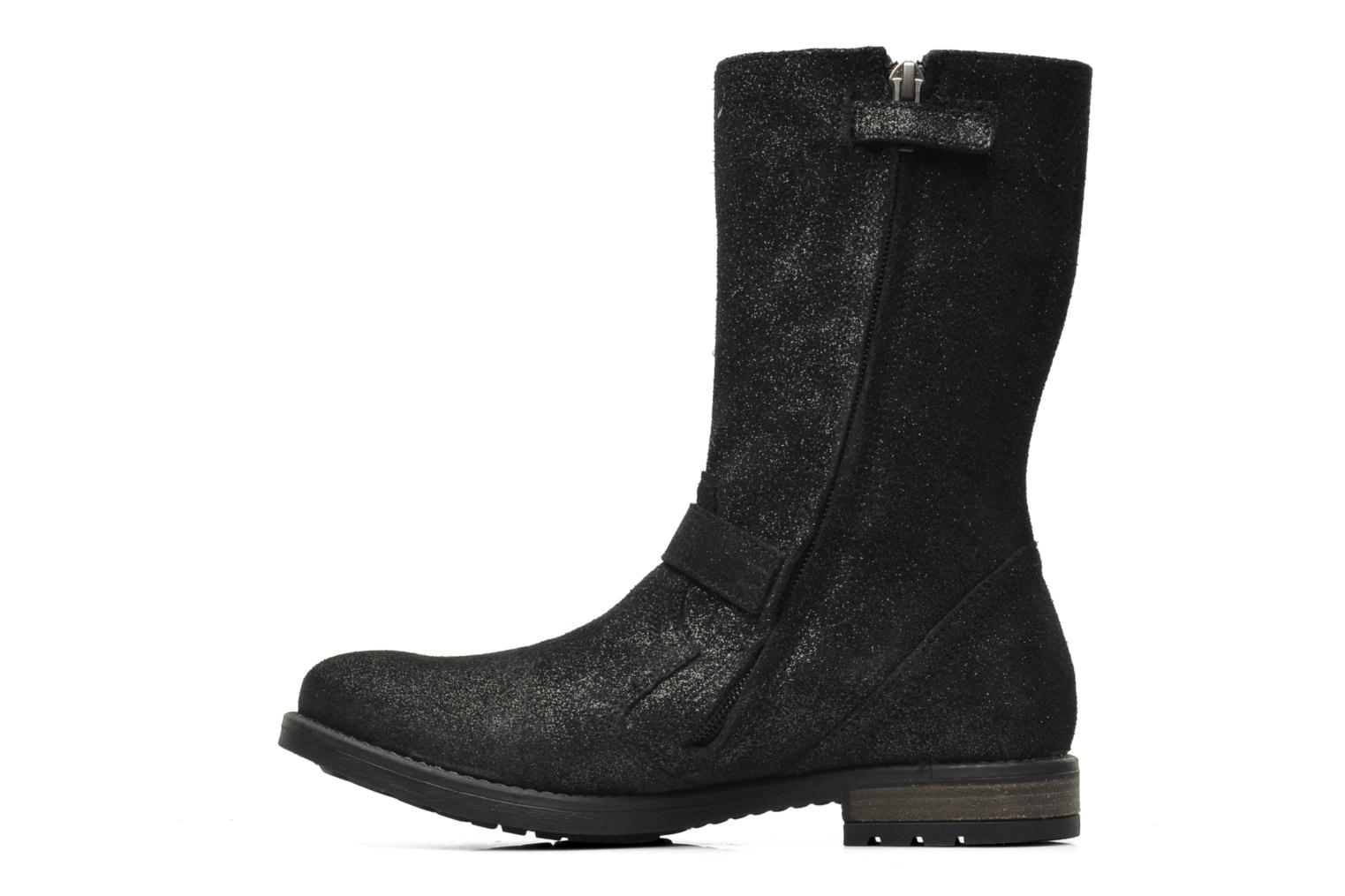 Boots & wellies Shwik WACO MID BOTTE Black front view