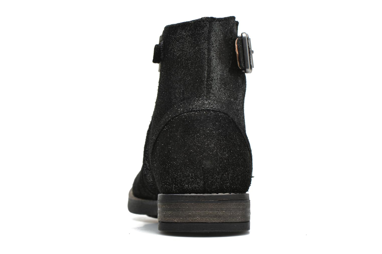 Ankle boots Shwik WACO BASE Black view from the right