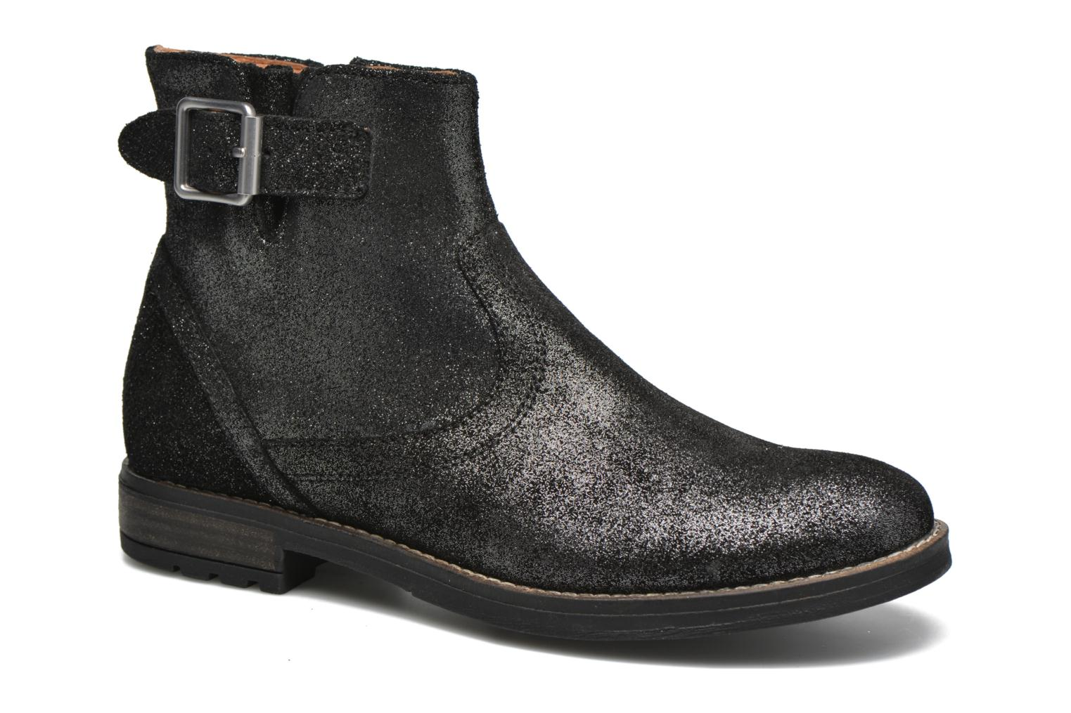Ankle boots Shwik WACO BASE Black detailed view/ Pair view