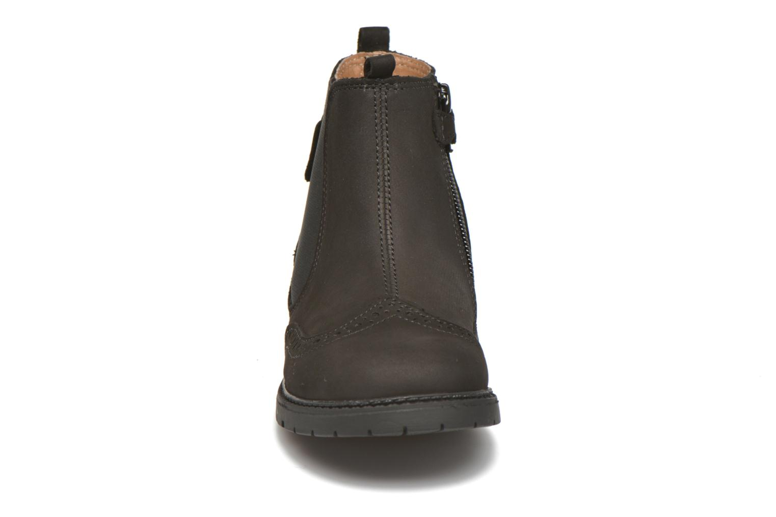 Digby Black Waxy Leather