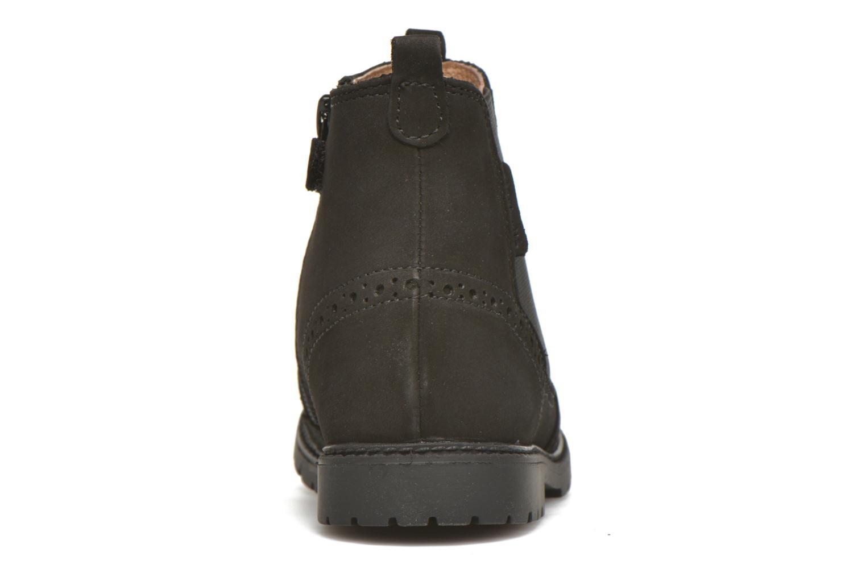 Digby Black Waxy Leather