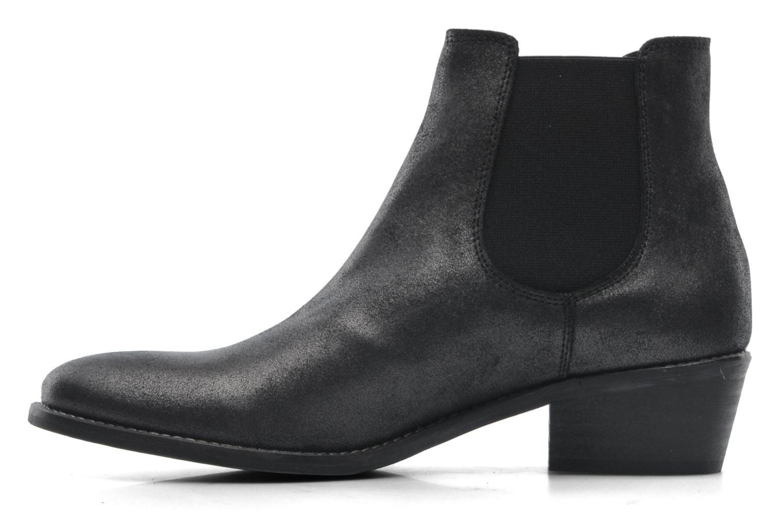 Boots en enkellaarsjes Méliné Svanna Grijs voorkant