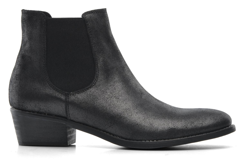 Boots en enkellaarsjes Méliné Svanna Grijs achterkant