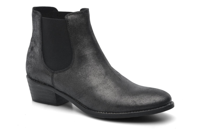 Bottines et boots Méliné Svanna Gris vue détail/paire