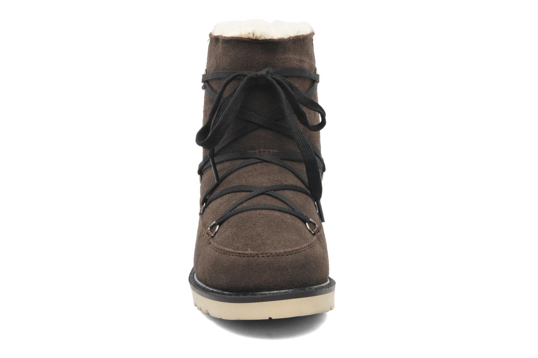 Bottines et boots Boo roo Polie Bleu vue portées chaussures