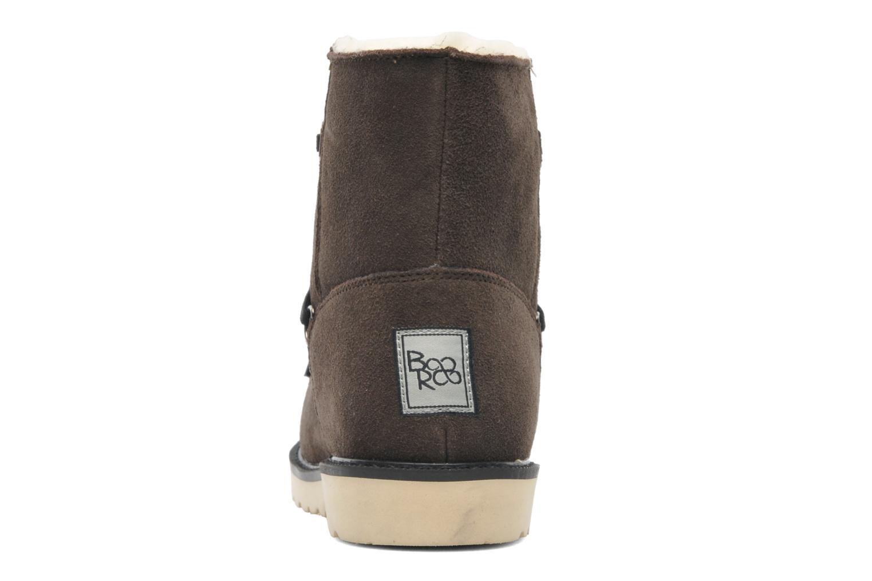 Bottines et boots Boo roo Polie Bleu vue droite