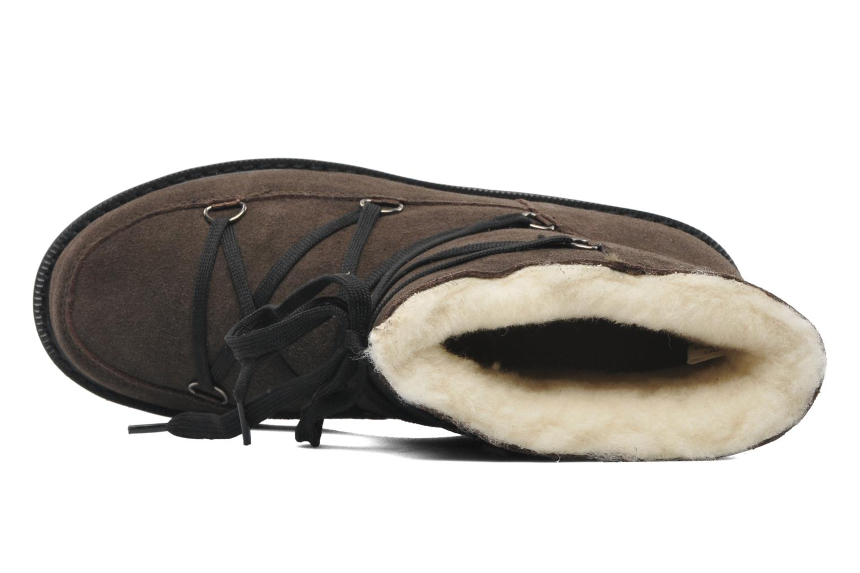 Polie Smokey Gr/black fkat lace