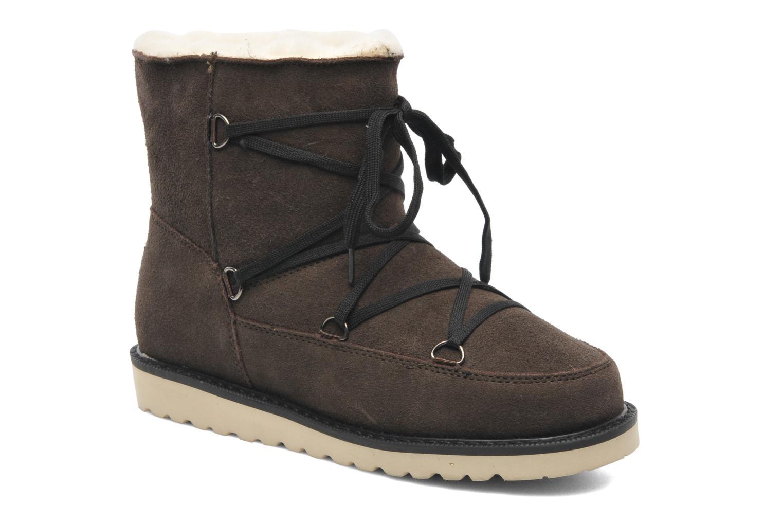 Bottines et boots Boo roo Polie Bleu vue détail/paire