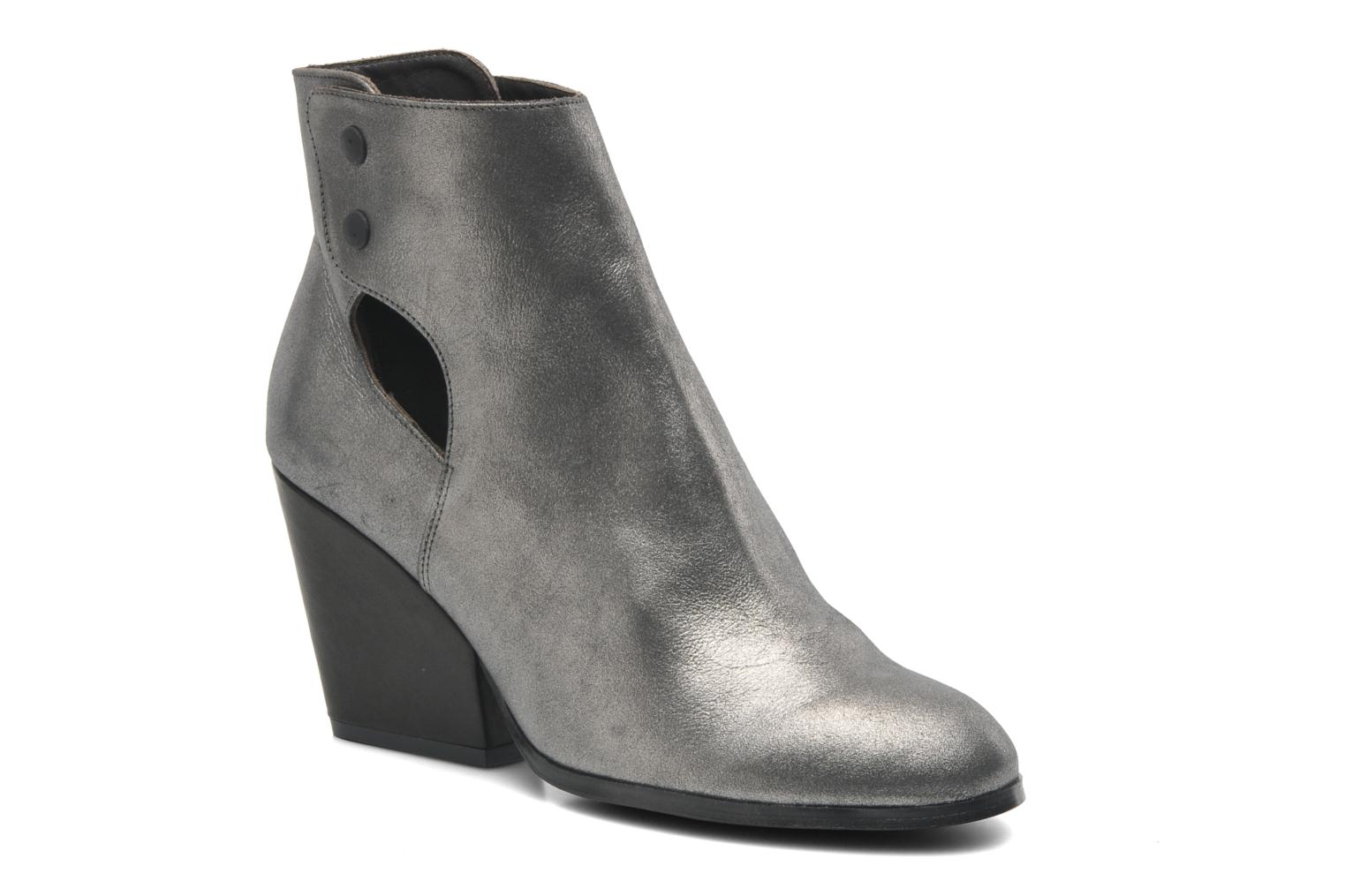 Ankle boots Bocage Marthe Grey detailed view/ Pair view
