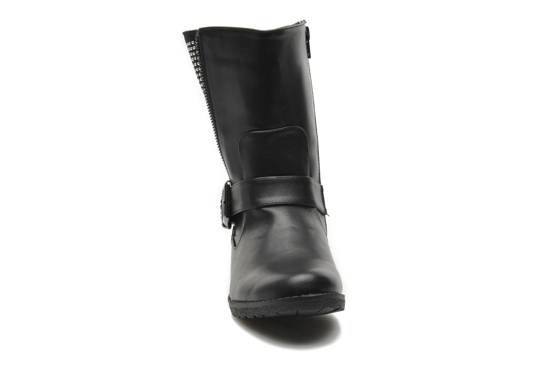 Bottines et boots Buffalo Ballisté Noir vue portées chaussures