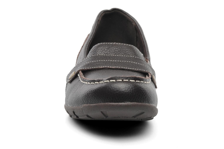Slipper Skechers Career 48986 braun schuhe getragen