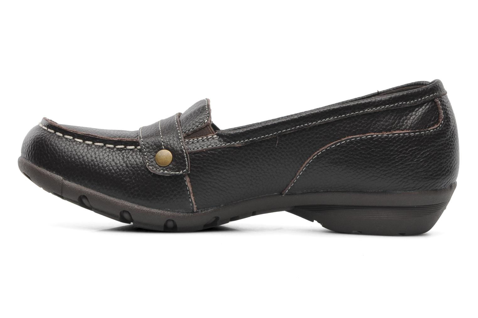 Loafers Skechers Career 48986 Brown front view